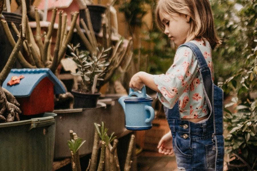 benefits of gardening preschool