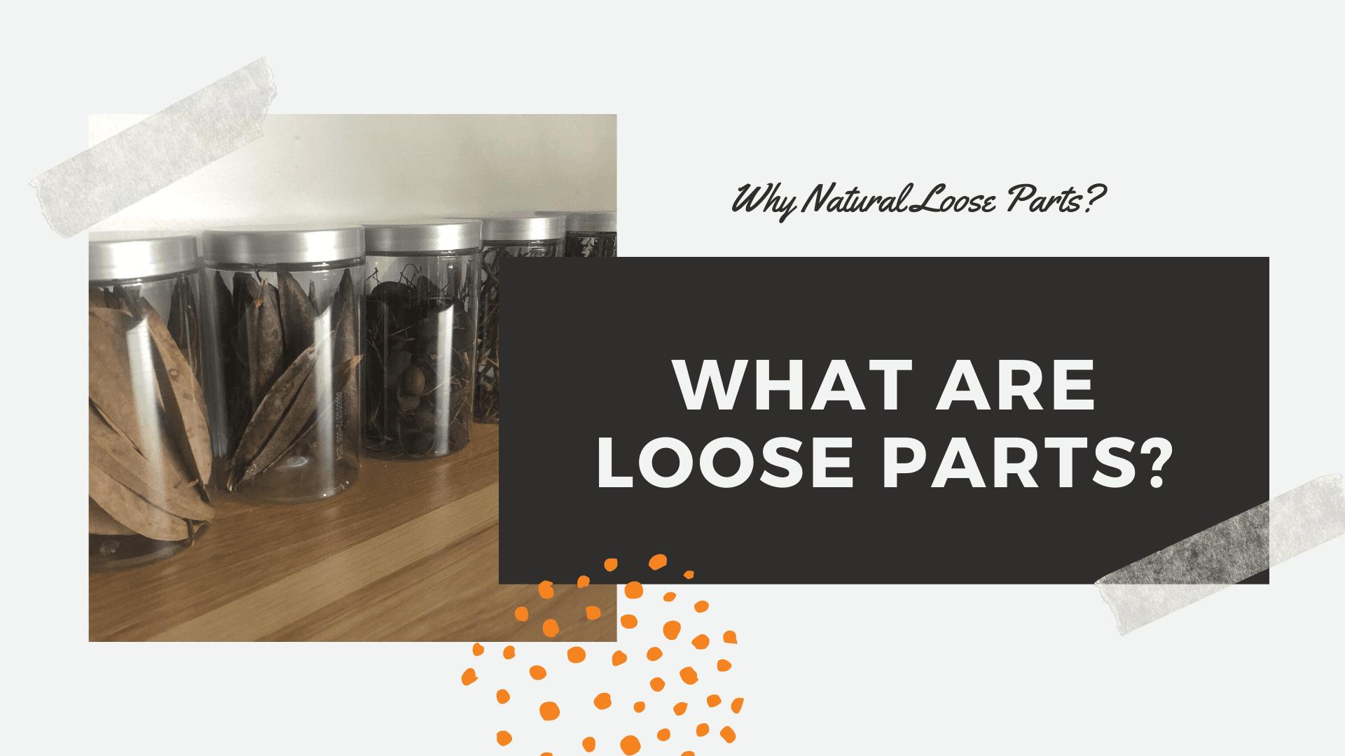 natural loose parts