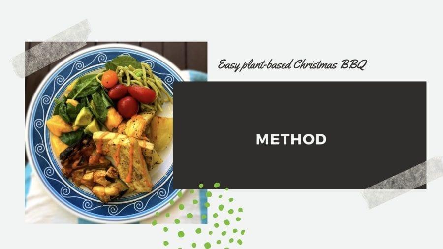 A plant-based Christmas BBQ